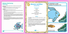 Sharing Playdough Busy Bag Resource Pack for Parents to Support Teaching on The Rainbow Fish