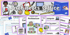 Architects Office Role Play Pack