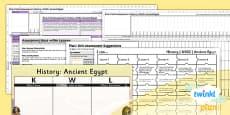 PlanIt - History LKS2 - Ancient Eygpt Unit Assessment Pack