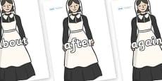 KS1 Keywords on Florence Nightingale