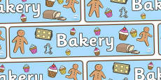 Bakery Display Banner
