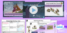 PlanIt Y4 Myths and Legends: Romulus and Remus Lesson Pack Storytelling (2)