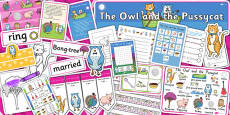 The Owl and the Pussycat Resource Pack