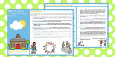 EYFS Settling into School Activity Ideas for NQTs
