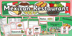 Mexican Restaurant Role Play Pack