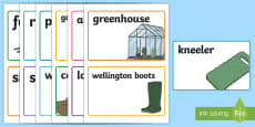 * NEW * Outdoor Learning Role Play Garden Centre Display Labels