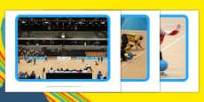 The Paralympics Goalball Display Photos