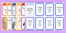 Story Writing Prompt Cards Pack Urdu