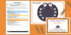 Peg Leg Spider EYFS Busy Bag Plan and Resource Pack