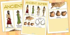 Ancient Sumer Vocabulary Mat