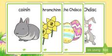 Easter Display Posters Gaeilge
