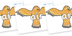 Phase 3 Phonemes on Owls