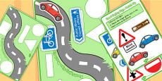 Road Sign Shape Matching Activity