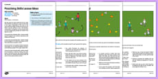 KS1 Football Skills 5 Practising Skills Lesson Pack