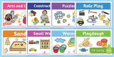 Play Stations for Aistear Early Childhood Curriculum