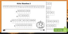 Oíche Shamhna, Bris an Cód Activity Sheets Gaeilge