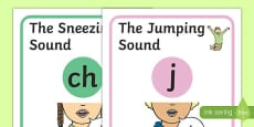 Visual Supports for Speech Sounds Affricates