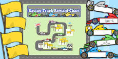 Racing Track Reward Display Pack