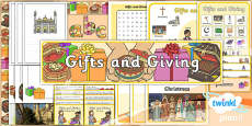 PlanIt - RE Year 1 - Gifts and Giving Additional Resources