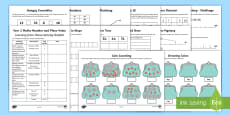 Year 2 Maths Place Value and Number Activity Booklet
