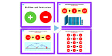 Year 3 Addition and Subtraction Lesson 1b Adding Ones Crossing 10 Powerpoint