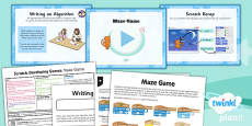 Computing: Maze Game Year 5 Lesson Pack 1
