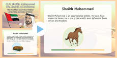 Sheikh Mohammed PowerPoint