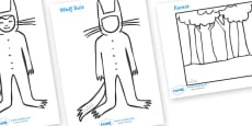 Colouring Sheets to Support Teaching on Where the Wild Things Are