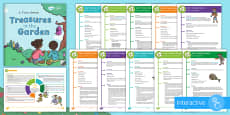 KS1 Take It Outside: Summer Activity Pack to Support Teaching on 'Treasures in the Garden'