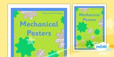 PlanIt - D&T LKS2 - Mechanical Posters Unit Book Cover