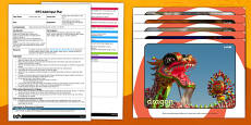Chinese New Year What's in the Box EYFS Adult Input Plan and Resource Pack