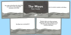 The Moon Fact Cards