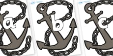 Phoneme Set on Anchors