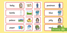 Word Cards to Support Teaching on The Jolly Postman