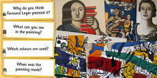 Fernand Leger Photopack and Prompt Questions