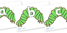 Phoneme Set on Hungry Caterpillars to Support Teaching on The Very Hungry Caterpillar