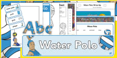 The Olympics Water Polo Resource Pack