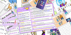 Aladdin KS1 Lesson Plan Ideas and Resource Pack