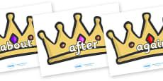 KS1 Keywords on Crowns