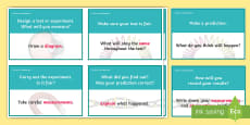 Scientific Investigation Question Prompt Cards