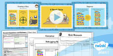 PlanIt - Computing Year 4 - Scratch Questions and Quizzes Lesson 2: A Short Quiz Lesson Pack