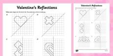 Valentine's Reflection Activity Sheet
