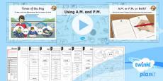 PlanIt Y3 Measurement Lesson Pack Time Vocabulary (2)
