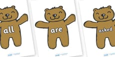 Tricky Words on Teddy Bears