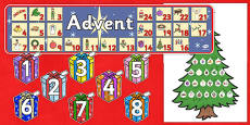 Ready Made Advent Display Pack