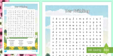 Spring Vocabulary Word Search
