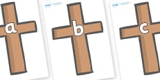 Phase 2 Phonemes on Crosses