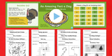 Amazing Fact a Day KS2 Countdown to Christmas Activity Pack