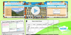 PlanIt - Geography Year 5 - Exploring Eastern Europe 4: Comparing Places Lesson Pack