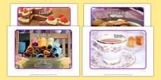 Royal Afternoon Tea Role Play Display Photos